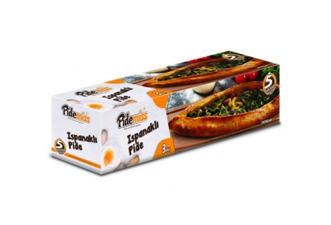 PIDE W/SPINACH  (125GRX3PCS)x12