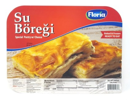 SU BOREGI-SPECIAL PASTRY WITH CHEESE 800GRX10