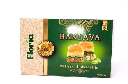 BAKLAVA W/PISTACHIO 700GRX18