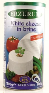 WHITE CHEESE (45%) 6x800GR