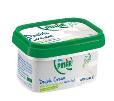 DOUBLE CREAM WHITE CHEESE 800GRx6