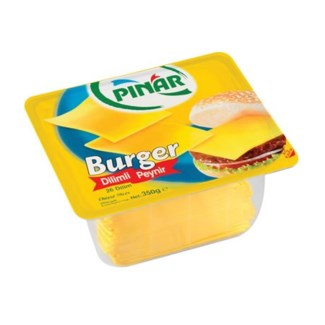 SLICED BURGER YELLOW CHEESE 350Gx12