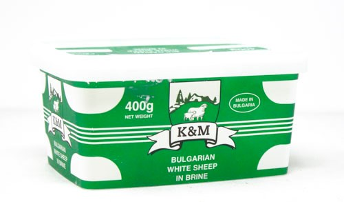 BULGARIAN CHEESE 400GRx24