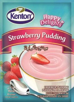 STRAWBERRY PUDDING 100GRx24