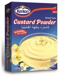 VANILLA CUSTARD POWDER 100GRx12