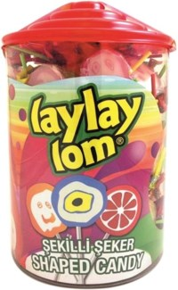 LOLLIPOP SHAPES DISPLAY 100PCx6