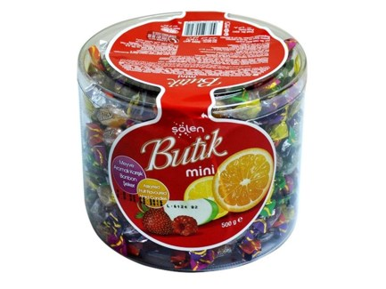 BUTIK MINIBON ASSORTED CANDY 500GRx8