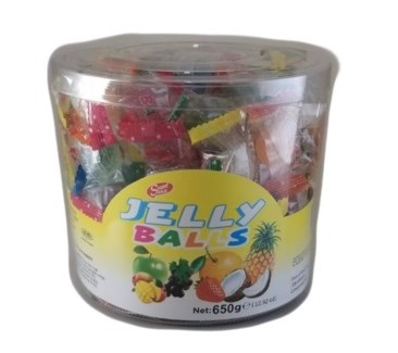 JELLY BALLS 650GRx12