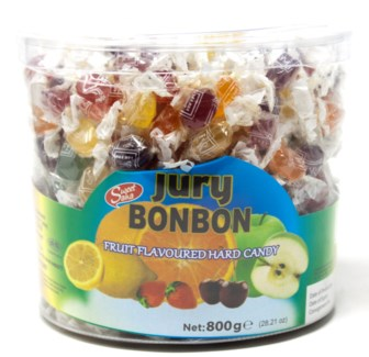 JURY BONBON MINI CANDY  800GRx12