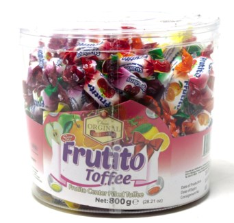 FRUTITO TOFFEE SOFT CANDY  800GRx12