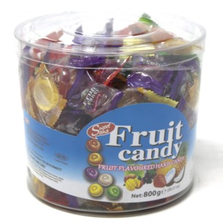 MIX FRUIT HARD CANDY  800GRx12
