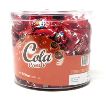 COLA CANDY  800GRx12