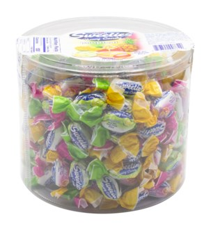 ASSORTED TROPICAL FRUITS CANDIES  800GRx10