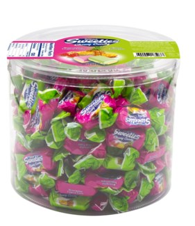 MIX HARD W/ CREAMY FRUIT CANDIES  750GRx10