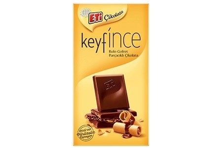 KEYFINCE MILK CHOCOLATE WITH WAFER 70GRx7 (SUMMER PROMO)