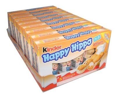 HAPPY HIPPO HAZELNUT 103gr x 10