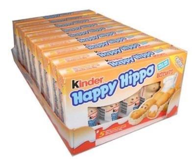 HAPPY HIPPO HAZELNUT 103gr x 10 (SUMMER PROMO)