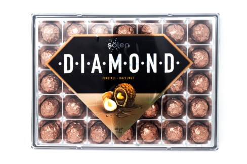DIAMOND CHOCOLATE GIFT BOX  440Gx6