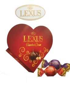 LEXUS CHOCOLATE W/HAZELNUT 110Gx24