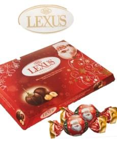 LEXUS SANTA CHOCOLATE W/HAZELNUT 220Gx12