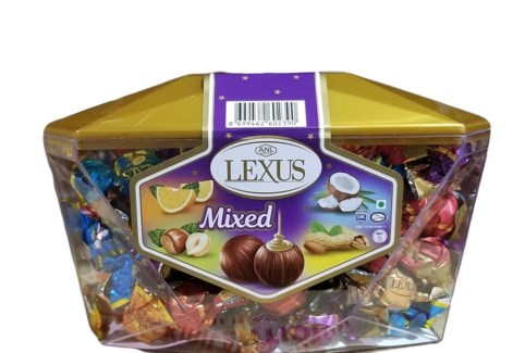 LEXUS MIX ASSORTED CHOCOLATE 600Gx6