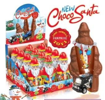 FIGURE NEW CHOCO SANTA 120Gx12x4 (SUMMER PROMO)