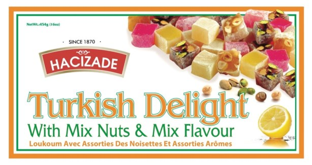 DELIGHT MIX NUTS (860) 454GRx12