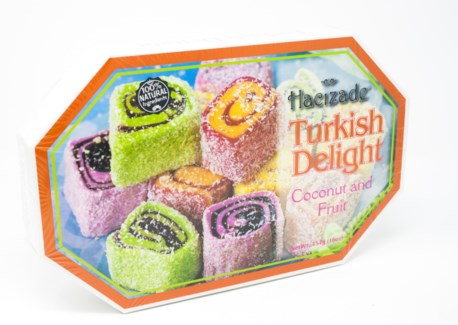 DELIGHT ROLLED W/MIX FRUITS  & COCONUT  454GRx9