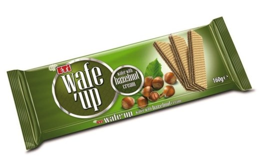 WAFE UP HAZELNUT 142GRx20