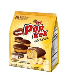 POP CAKE BANANA 144GRx10