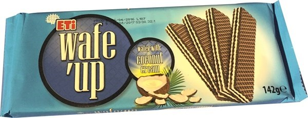 WAFE UP COCONUT CREAM 142GRx19 (PROMO)