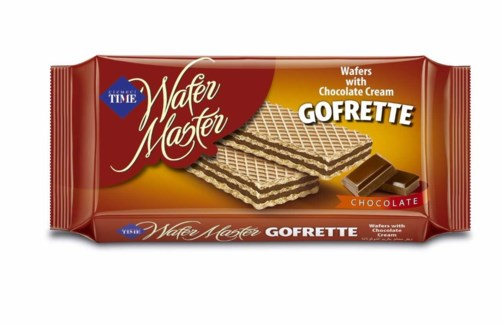 GOFRETTO WAFERS CHOCOLATE 40GX24X6