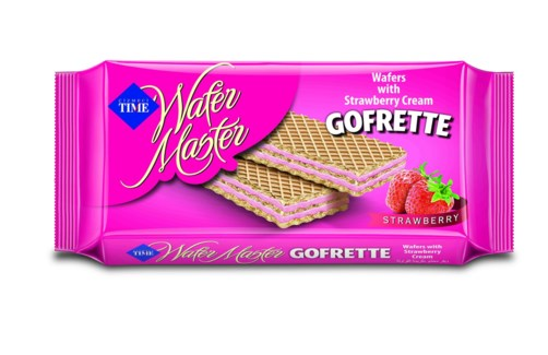 GOFRETTO WAFERS STRAWBERRY 40GX24X6