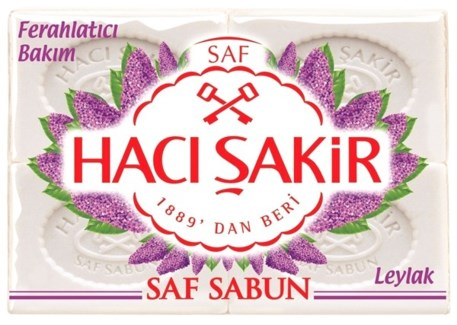 BATH SOAP LILAC 4PKx15PC