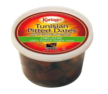 ORGANIC PITTED DATES (283G) 10OZx24