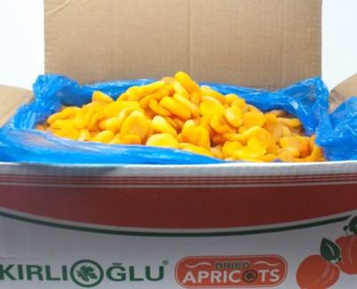 DRIED APRICOT SUPREME 12.7kg