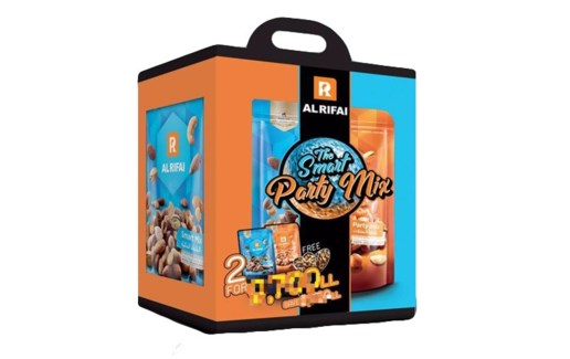 ROASTED NUTS PHX (SMART&PARTY MIX) 300GRX8*2BAGS
