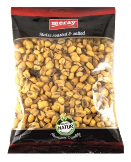 MAIZE CORN NUTS PLAIN 180GRx12
