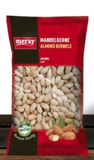 ROASTED & SALTED ALMONDS 250GRx12