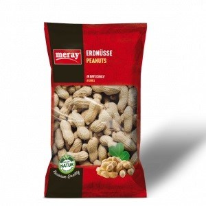 ROASTED PEANUTS IN SHELL 250GRx12
