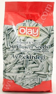 SUNFLOWER SEEDS WHITE 175GRx12