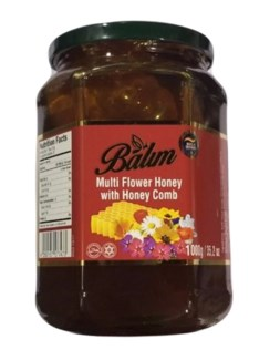BLOSSOM HONEY W/COMB JAR 1KGx11
