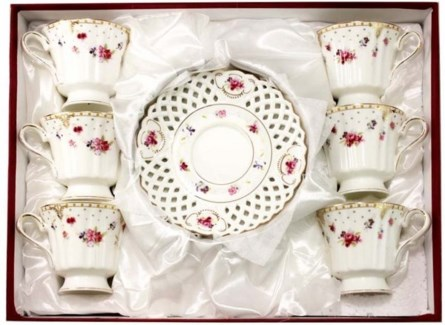 PORCELAIN SPECIAL COFFEE SET (RSY0097944) 6PCX1