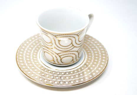 PORCELAIN COFFEE SET (46557) 6PCX1