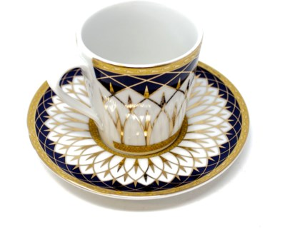 PORCELAIN COFFEE SET (46510) 6PCX1