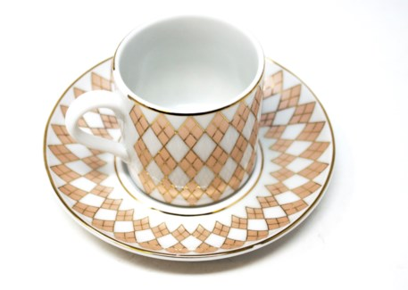 PORCELAIN COFFEE SET (44405) 6PCX1