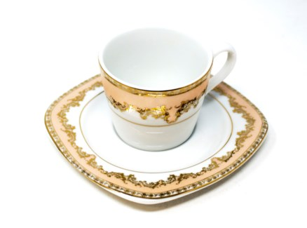 PORCELAIN COFFEE SET (44329) 6PCX1