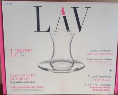 LAV DEMET S1 TEA SET 6PCX6