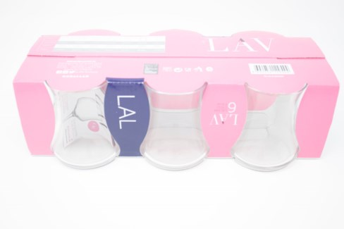LAV LAL (344) PERD TEA GLASS (E) 6PCSX8