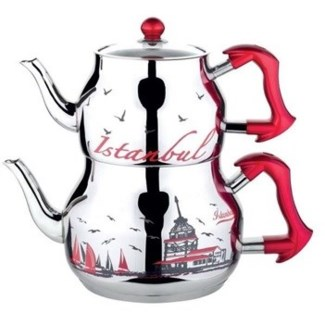 MS TEA POT MEDIUM SIZE ISTANBUL 1PCS